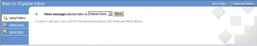 Organize Outlook Inbox