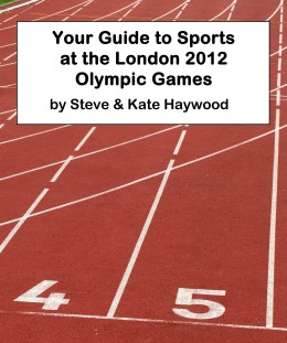 Cover image for my Olympics book. Just a stock photo with some text on.