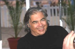 The late Aaron Russo at the Cannes Film Festival.