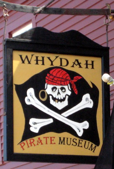 The Whydah Pirate Museum, on Macmillan Wharf, Provincetown, MA.