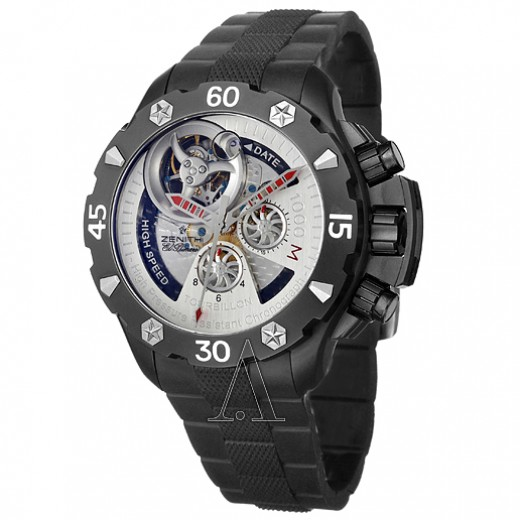 Zenith Defy Xtreme 96-0525-4035-21-R642 Men's Chronograph Tourbillon Automatic Watch