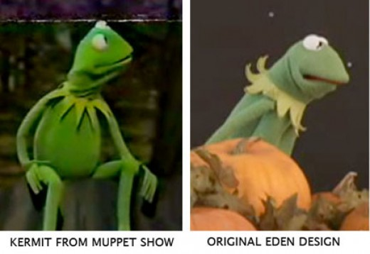It was once rumore that Kermit the frog was named after sesame street muppet designer Kermit Love. Kermit was named after one of Henson's childhood friends.