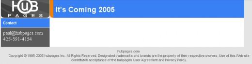 HubPages.com on December 10, 2005