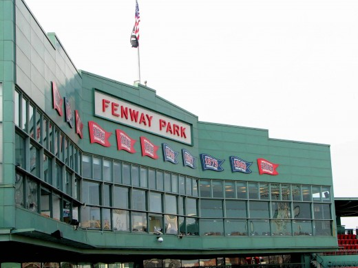 The Fenway Park Press Box