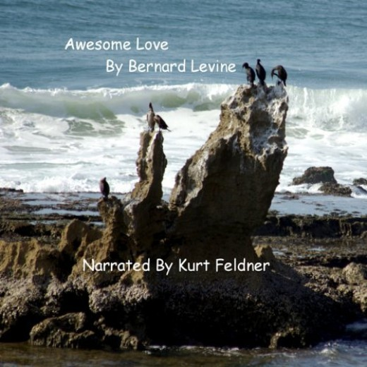 The audiobook of Bernard Levine's Awesome Love narrated by Kurt Feldner is available at iTunes, Amazon.com and Audible.com