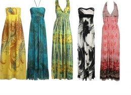 Maxi dresses are a low-pain option for summer!