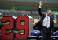 The Atlanta Braves Retire The Big Three - 31, 47 and finally 29 (Maddux, Glavine, Smoltz)