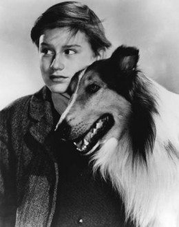 Lassie and Roddy Mcdowall