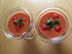 Tomato and Watermelon Soup: A humorous approach to getting rid of Watermelon