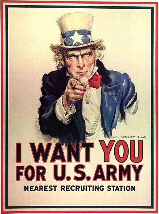 U.S. Army recruiting poster