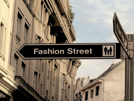 Women: Get on the right road and head to fashion street!