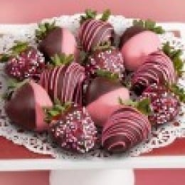 A basket coud feature these strawberries