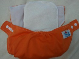 Baby Land diaper + insert.