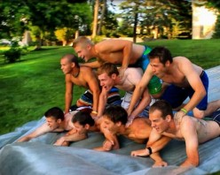 What To Do This Summer - Giant Slip-n-Slide