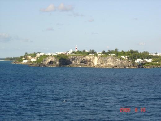 Entering Bermuda waters