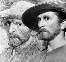Kirk Douglas,in his Academy award winning performance as Van Gogh in the 1956 film entitled Lust for Life