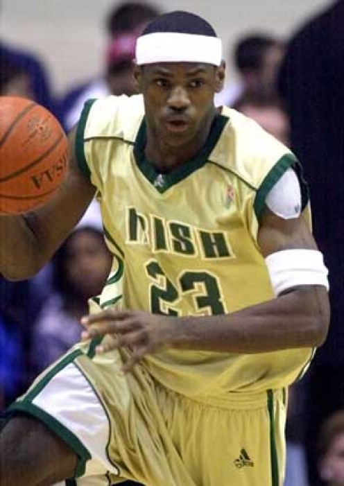 Lebron James went straight to the NBA out of high school.