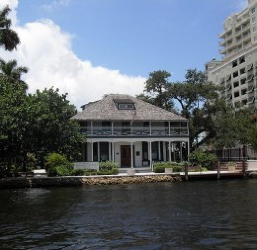 Stranahan house, the oldest building in Ft. Lauderdale.