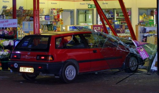 Accidents happen inevitably due to neglect of safety, carelessness or just plain and sheer stupidity.