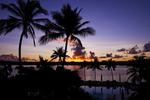 A view of Guam, from where some delicious recipes originate.