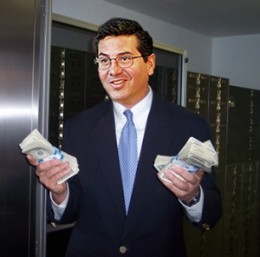 Dan Snyder, owner of Washington Redskins