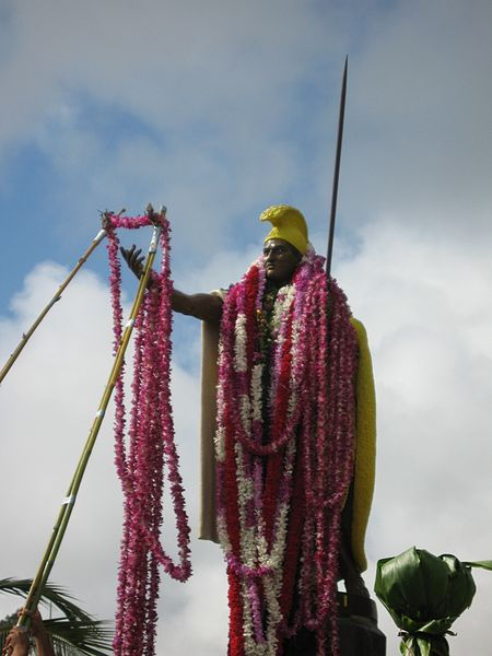 The original Kamehameha statue is in the small town of Kapa'au on the Big Island.