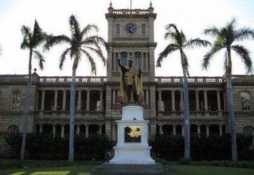 The most often-seen Kamehameha Statue is in Honolulu, O'ahu
