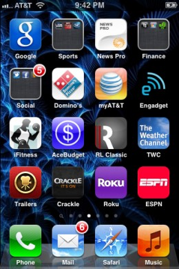 The app icon appears on your home screen.