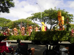 The Kamehameha Day Parade in Honolulu is a popular event