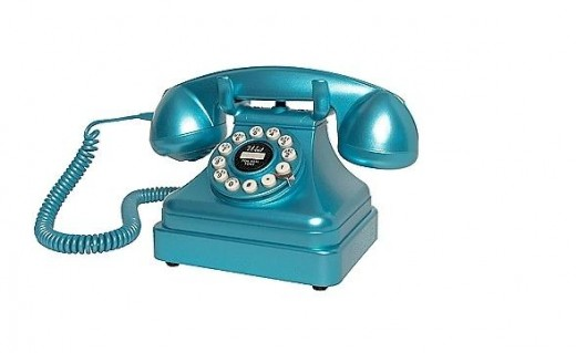 "If you were lucky, you had a ""pretty"" phone in a color."