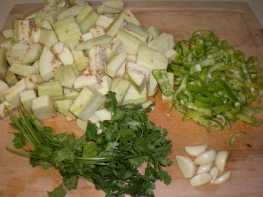Everything but the scallions/leek