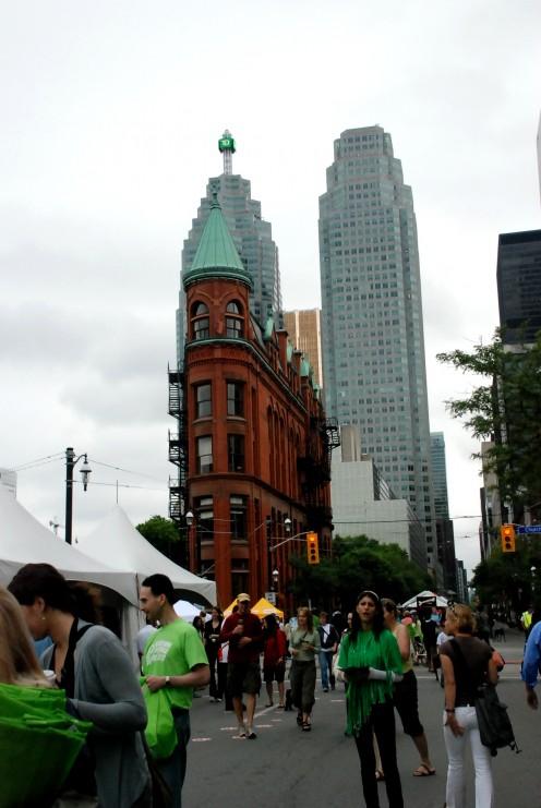 Summer Woofstock on Front Street, Toronto