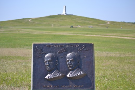 The Wright Brothers at the Wright Brothers National Memorial