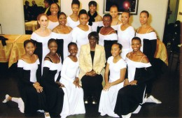 Grace Ministry Dancers in the Apollo Green Room