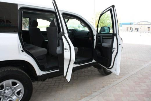 Armored Toyota Land Cruiser 200 Series