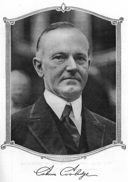 President Calvin Coolidge should be the patron saint of those who are forced to deal with incessant talkers