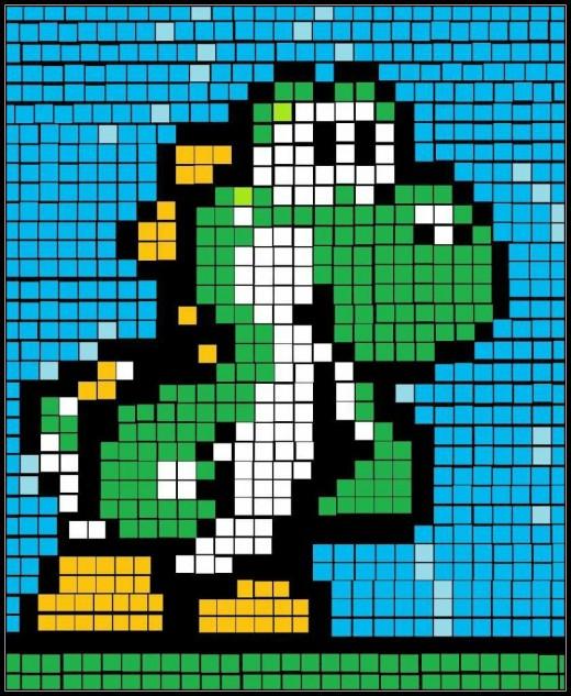 """""""8-bit Yoshi"""""""