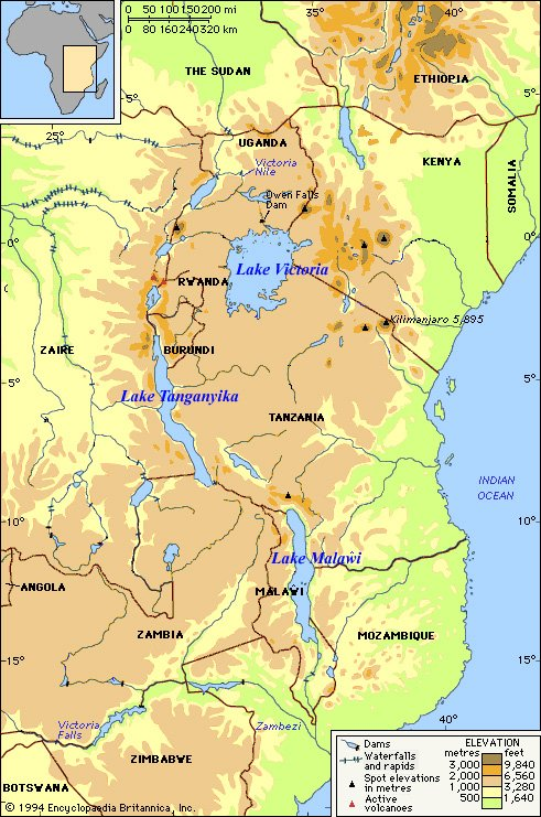 Lakes of East Africa