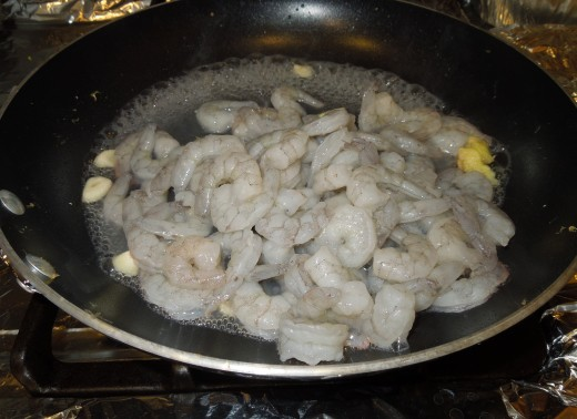 Cooking Shrimps