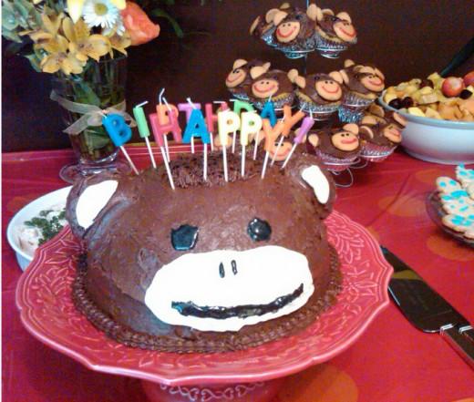 Martha Stewart Monkey Cake