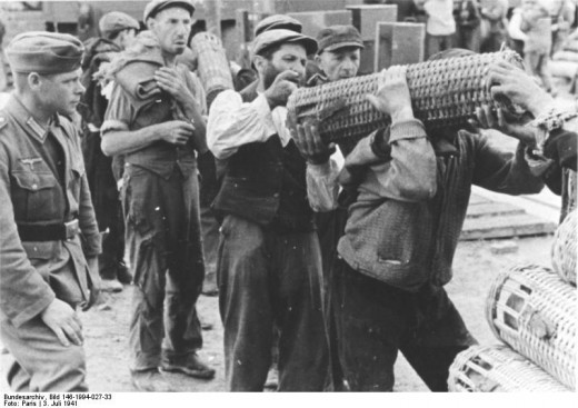 Jewish Prisoners at Work