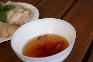 Typical dipping sauce, fish sauce