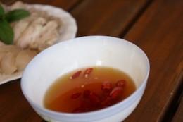 Typical dipping sauce, fish sauce