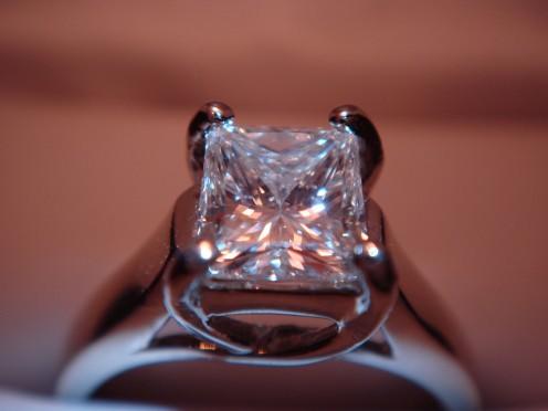 A Diamond:  Strength, Permanence & Faithfulness