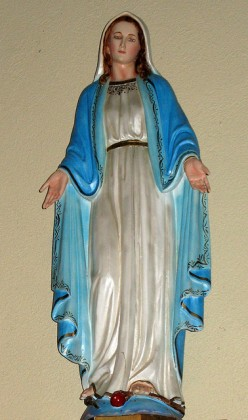 JESUS' MOTHER the Virgin Mary.