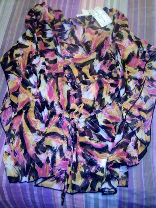 A butterfly dress shirt