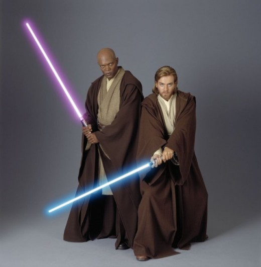 Samuel L. Jackson and Ewan McGregor