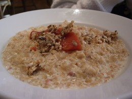 Oatmeal helps increase serotonin which helps control stress and anxiety.