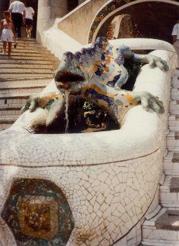 A grand dragon guarding the entrance
