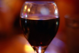 Red wine in moderation can help you relax.